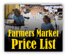 Click to download Farmers Market Price List