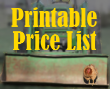 Click here to download current price list